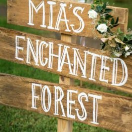 3 Piece Wooden Sign