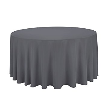 Charcoal Circular Table Cloth