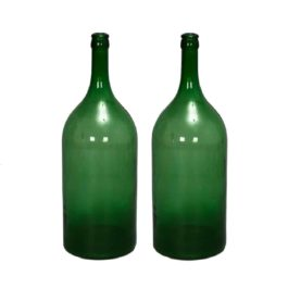Extra Large Green Bottles