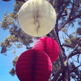 Extra Large Honeycomb Lanterns