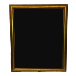 Gold Rim Large Blackboard Frame