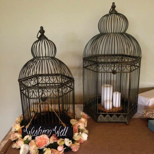 Large Rustic Birdcages