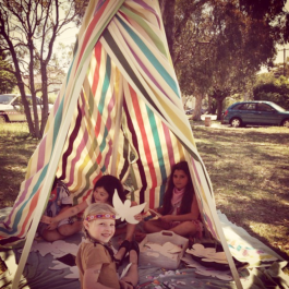 Colourful Tee Pee