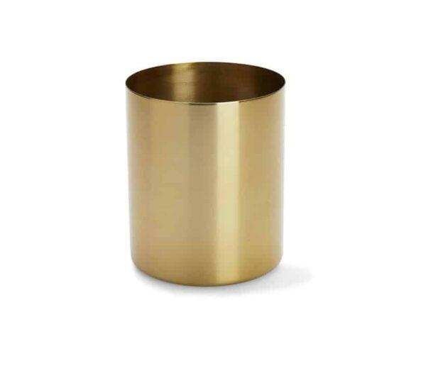 Gold Metal Vase