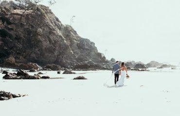 Beach And Cliffs