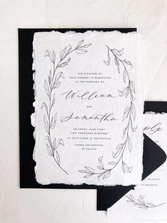 Unique Fine Art Invite