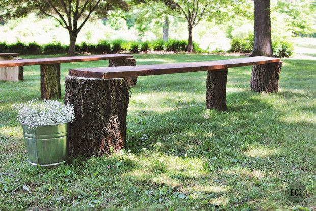 Tree Log Seating